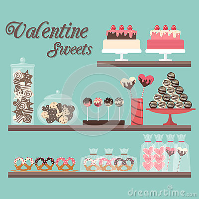Free Valentine Sweets Royalty Free Stock Photos - 65171398