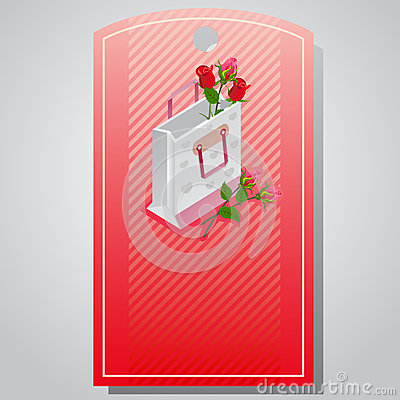 Free Valentine Tag Packaging Stock Image - 64802321