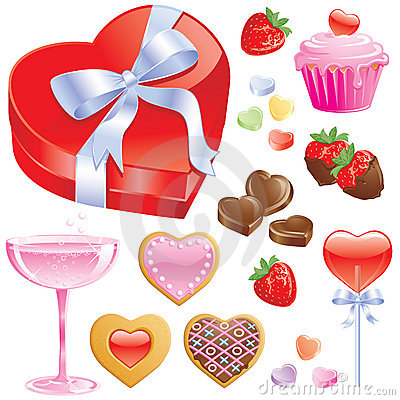 Free Valentine Treats Royalty Free Stock Photography - 7706647