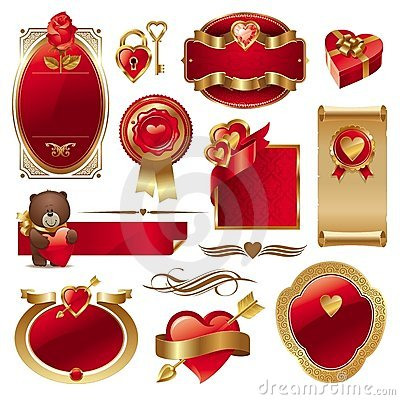 Valentine vector set