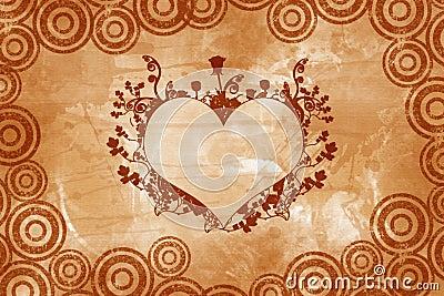 Valentine vintage heart