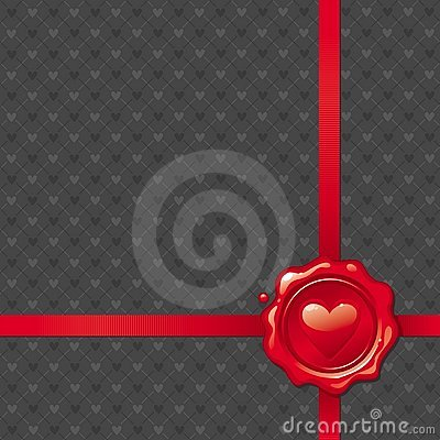 Valentine wax seal