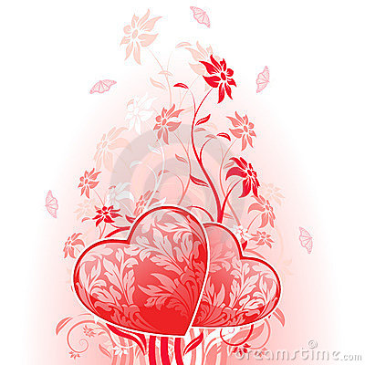 день карточки цветет valentines