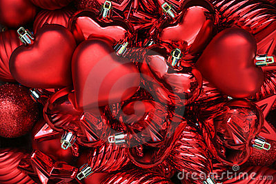 Valentines сердец дня