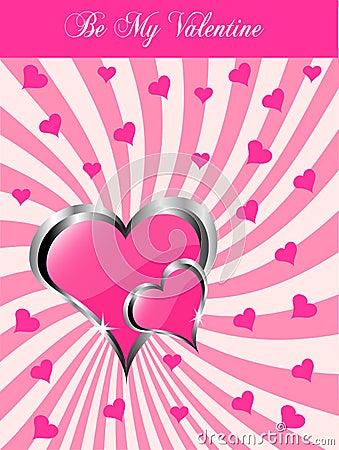A  valentines background