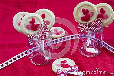 Valentines biscuit
