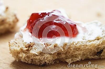 Valentines Bread and Jam