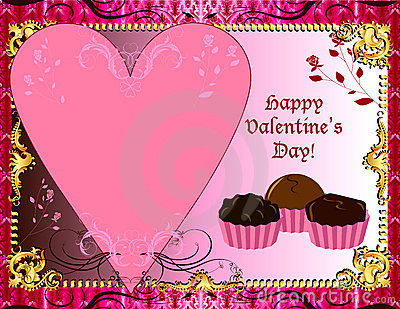 Valentines Chocolate Card