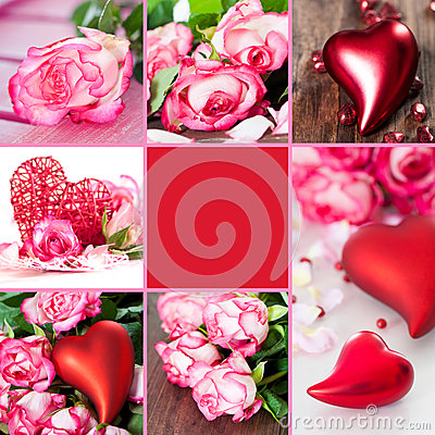 Free Valentines Collage Royalty Free Stock Image - 29073786