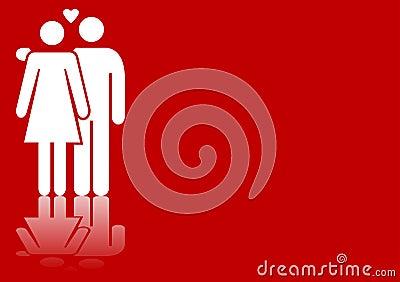Valentines couple