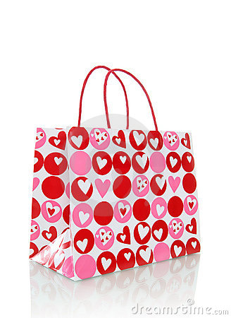 Free Valentines Day Bag Stock Image - 12701501