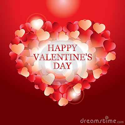 Valentines day card banner design royalty free stock for Valentines day card design