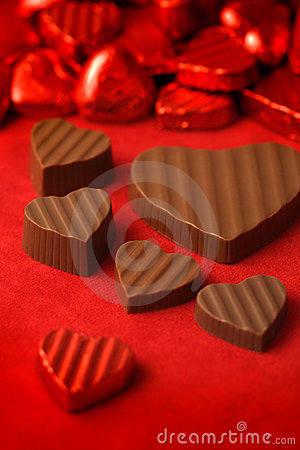 Free Valentines Day Chocolates 2 Stock Images - 4091984
