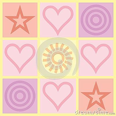 Valentines Day congratulation card
