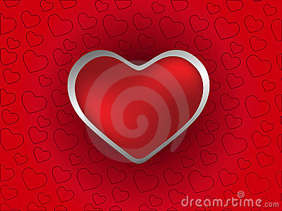 Valentines Day design. Vector illustration.