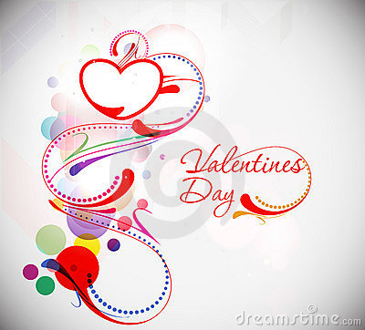 Valentines day floral text  background