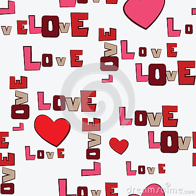 Valentines Day Hearts Love  pattern