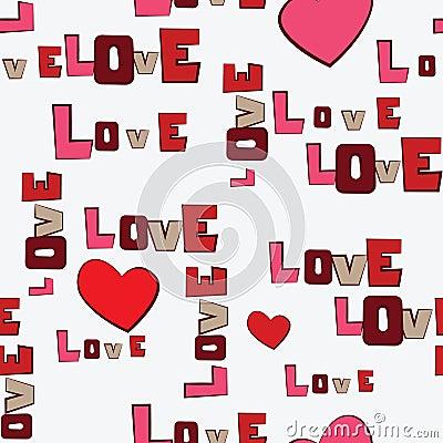 Valentines Day Hearts Love  pattern