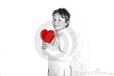 Valentines day kid