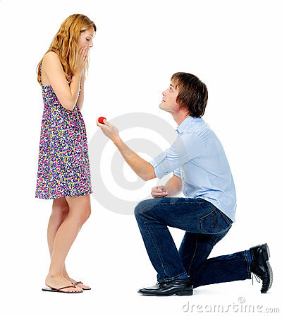 Valentines day proposal