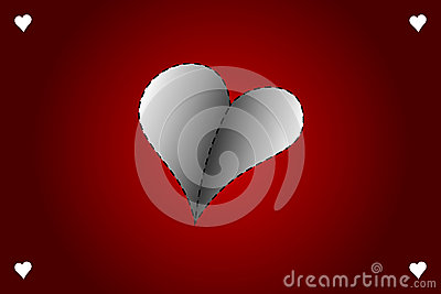 Valentines day vector card