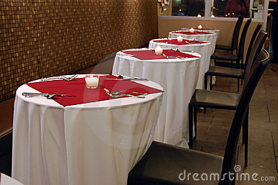 Valentines Dinner Tables