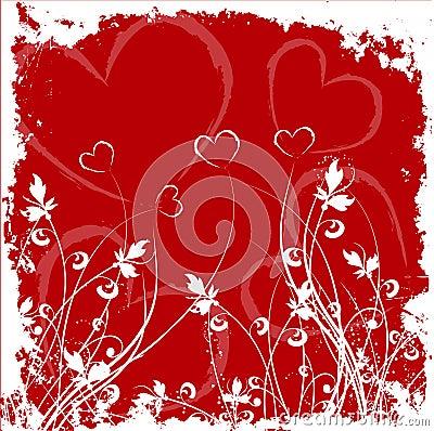 Free Valentines Grunge Royalty Free Stock Photo - 454855