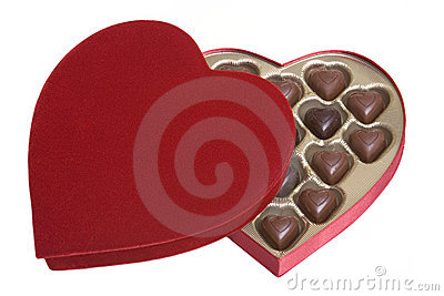 Valentines Heart Chocolates