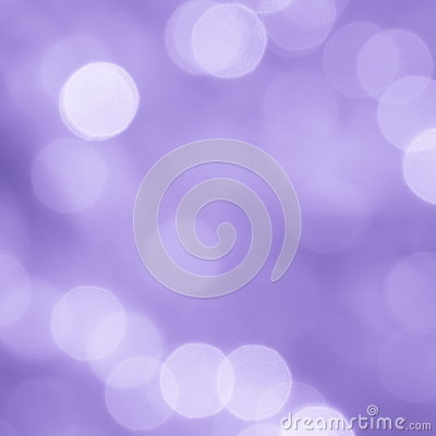 Valentines Purple Blur Background - Stock Photo