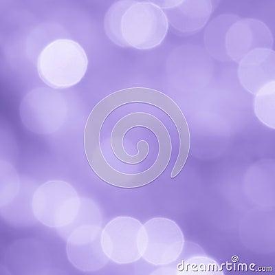 Valentines Purple Blur Background - Stock Photo