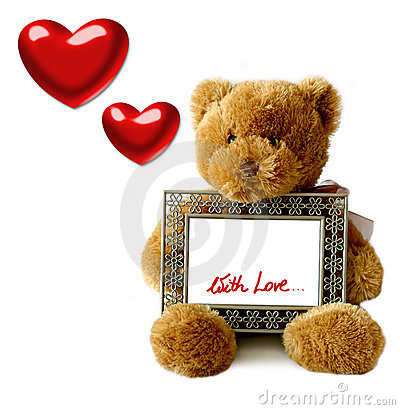 Free Valentines - Teddybear Stock Photography - 55852