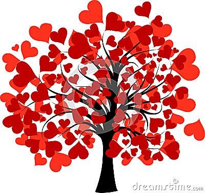 Free Valentines Tree, Stock Images - 17776204
