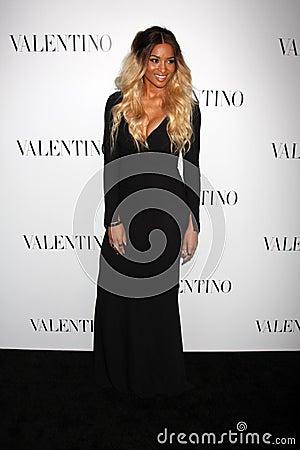 Valentino,Ciara Editorial Stock Photo
