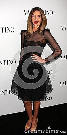 Valentino,Dawn Olivieri Editorial Image