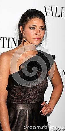 Valentino,Jessica Szohr Editorial Image