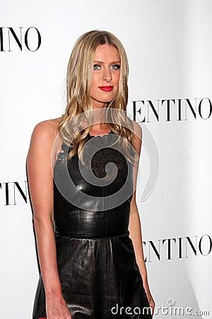 Valentino,Nicky Hilton Editorial Image