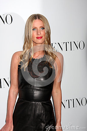 Valentino,Nicky Hilton Editorial Image