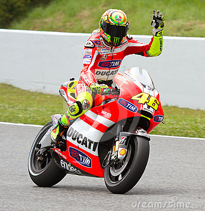 Valentino Rossi Editorial Stock Photo