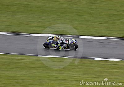 Valentino Rossi Donington MotoGP 2009 Editorial Photo