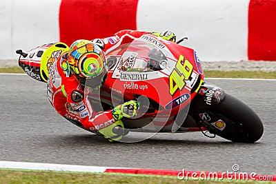 Valentino Rossi (Ducati) Editorial Stock Image