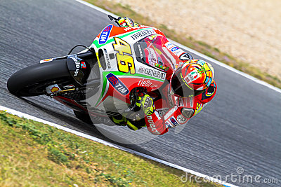 Valentino Rossi pilot of MotoGP Editorial Stock Photo
