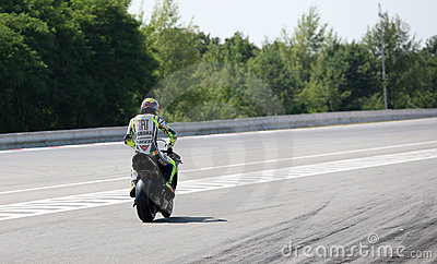 Valentino Rossi tested in Brno Editorial Photo