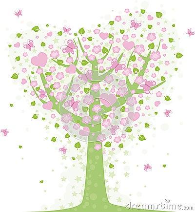 Valentinsgrußbaum