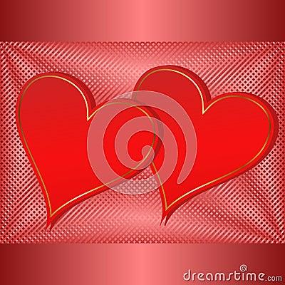 Valentinsgrußhintergrund