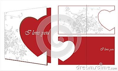 Valentinsgruß-Karte