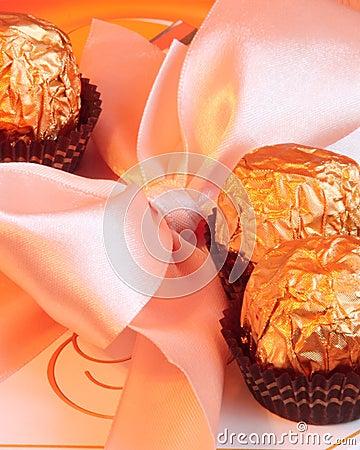 Valentinsgruß-oder Mutter-TagesGeschenkbox - Foto auf lager