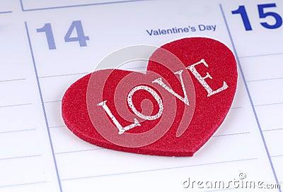 Valentinsgruß-Tag