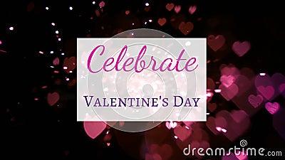 Valentinstag-Meldung lizenzfreie abbildung