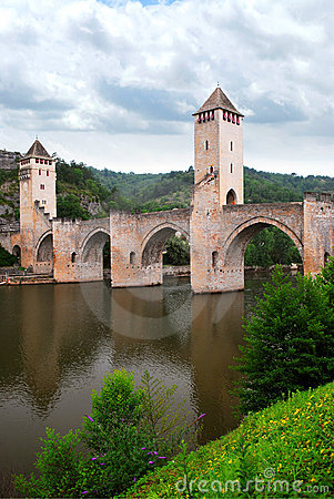 Valentre bridge in Cahors France