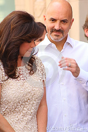 Valerie Bertinelli and husband Editorial Image